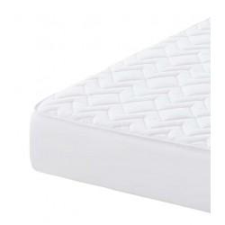 Protector de colchón tela-P.V.C.